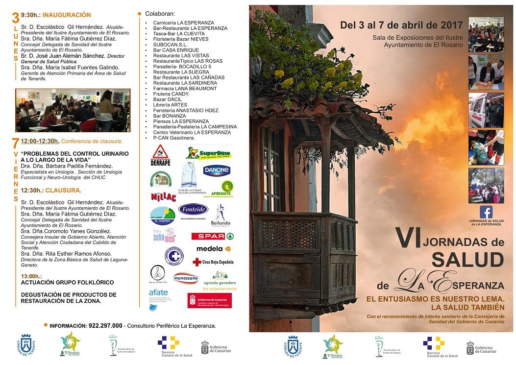 Programa VI Jornadas de la Salud Front - copia