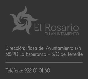 datos contacto telefono ayuntamiento el rosario