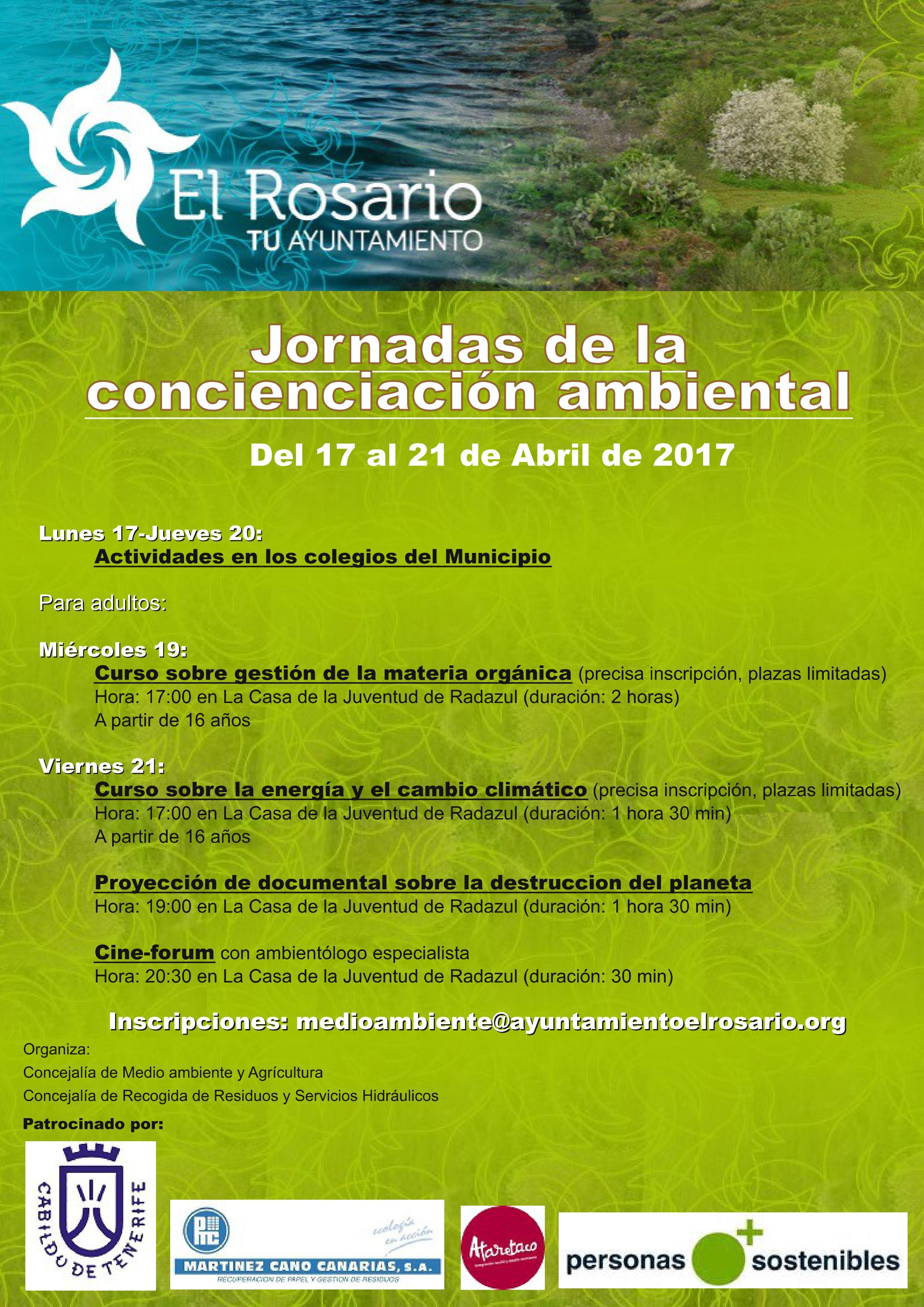Jornadas de Concienciación Ambiental