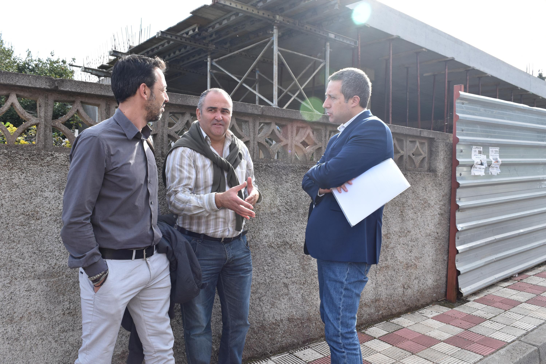Reunión con José Luis Rivero. Enero 2016.