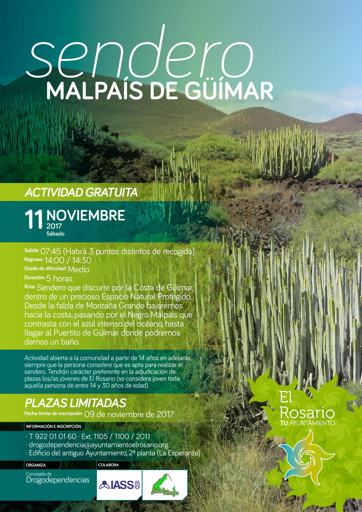 SENDERO MALPAIS DE GUIMAR-20171111-CARTEL-01af-redes