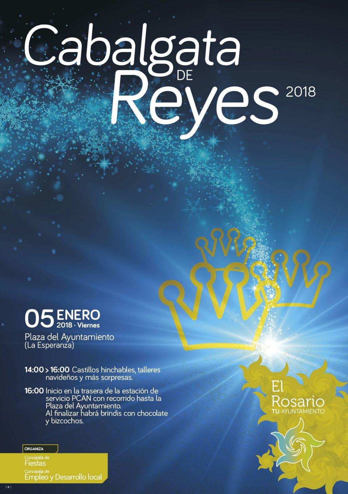 Cartel Cabalgata Reyes 2018