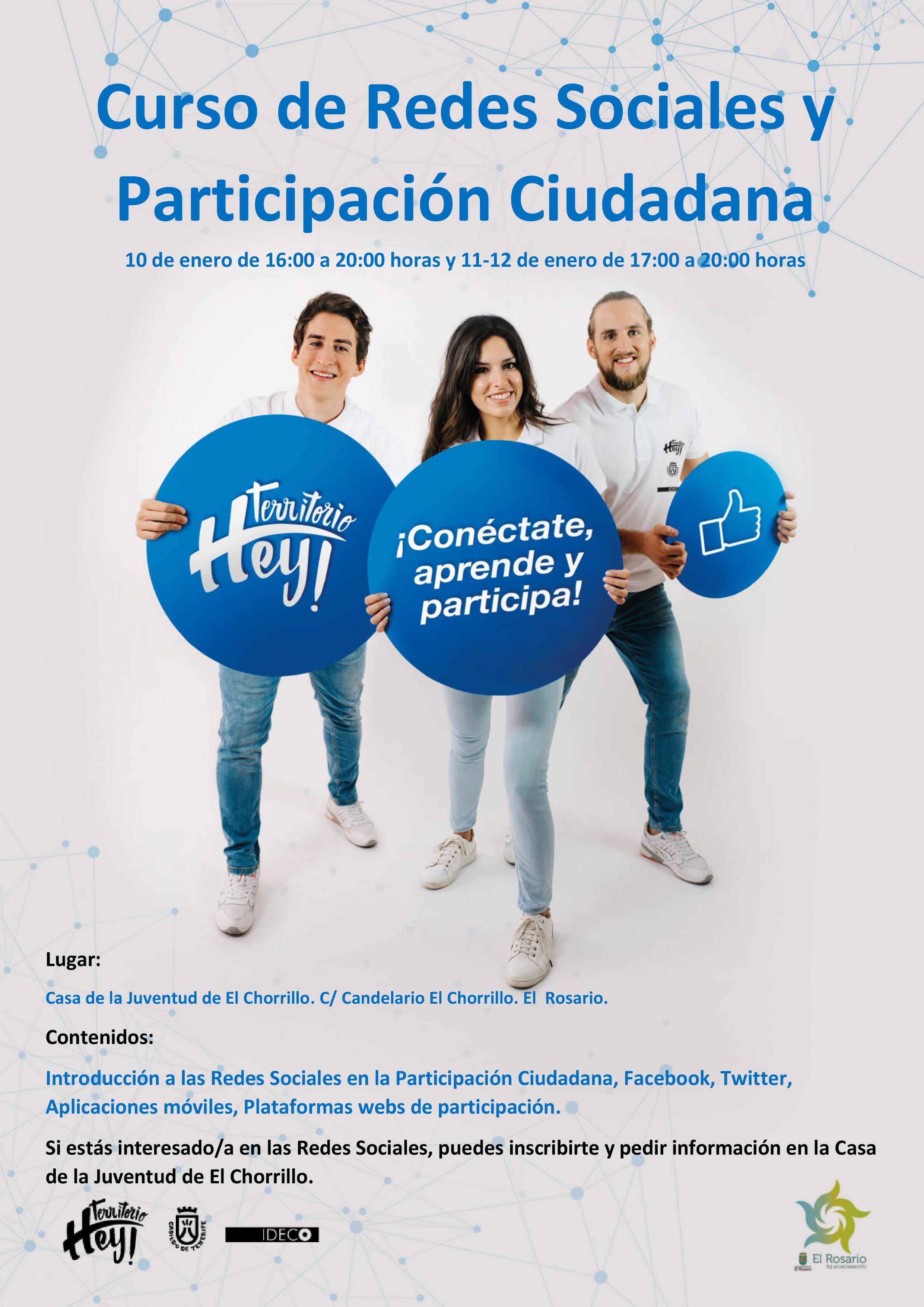 cartel redes_El Rosario_hey2
