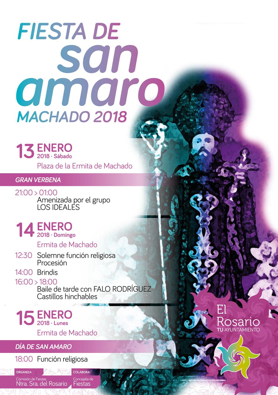 Cartel Fiesta San Amaro