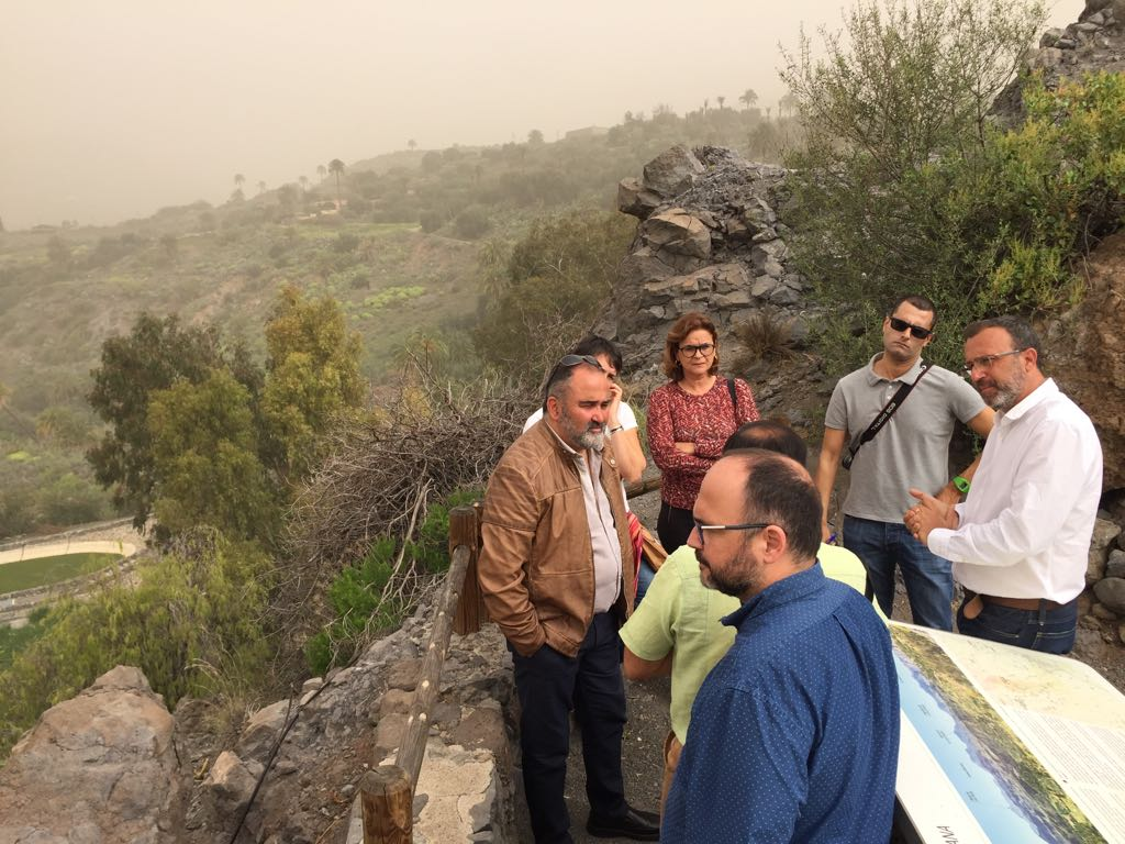 Visita al municipio de Santa Lucía de Tirajana (4)