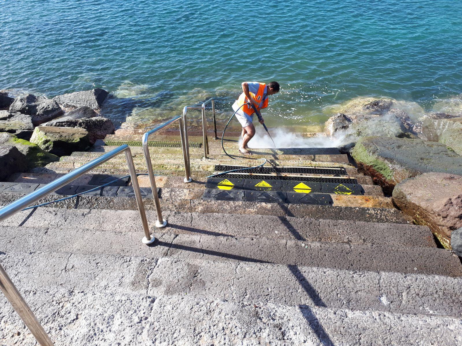 Limpieza escaleras Radazul