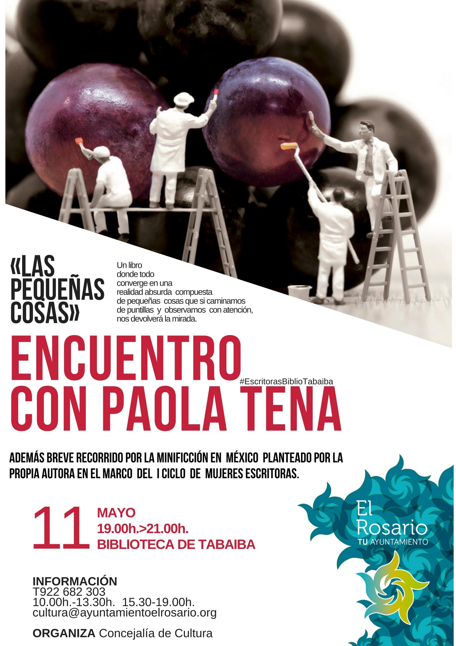 Paola Tena ofrece un encuentro con sus lectores en el marco del I ...