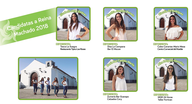 Candidatas Fiestas Machado 2018 - copia