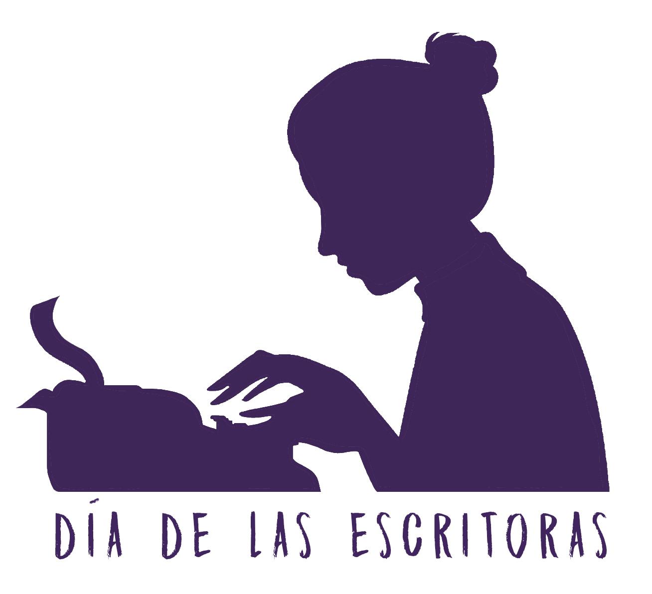 Gráfica Dia Escritoras Morado