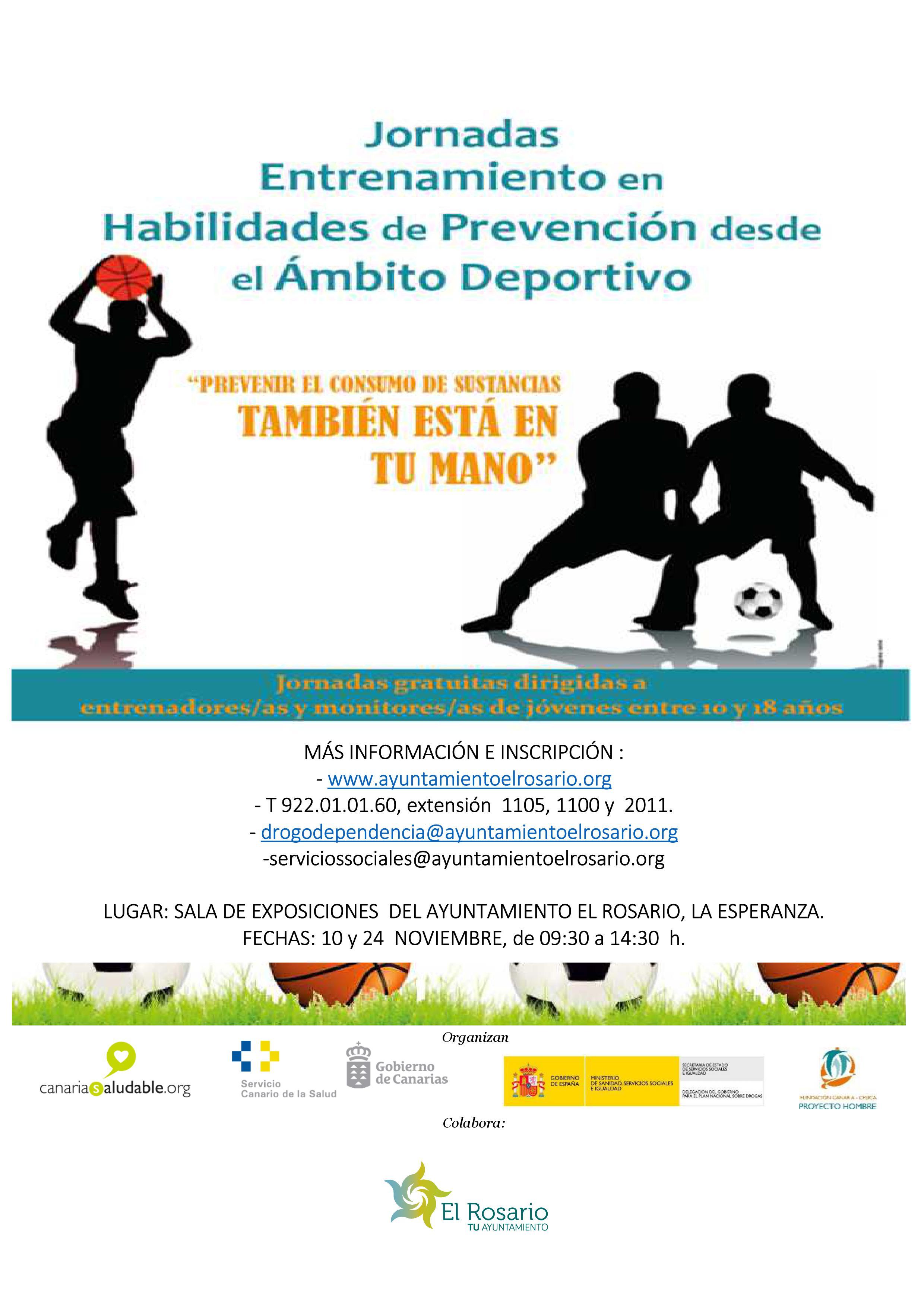 Cartel Jornadas de Habilidades en Prevención