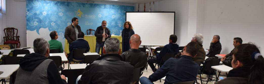 Clausura del curso gratuito sobre prevención de riesgos laborales para trabajos de Albañilería