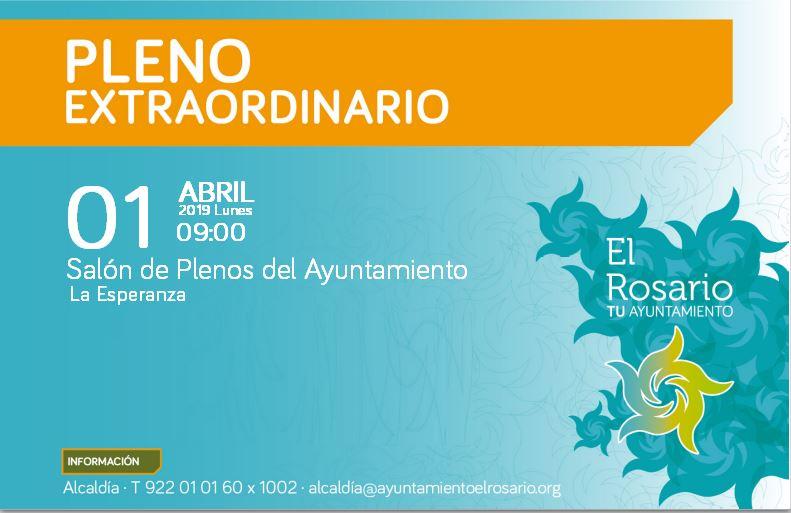 BANNER CONVOCATORIA PLENOS EXTRAORDINARIO 01042019