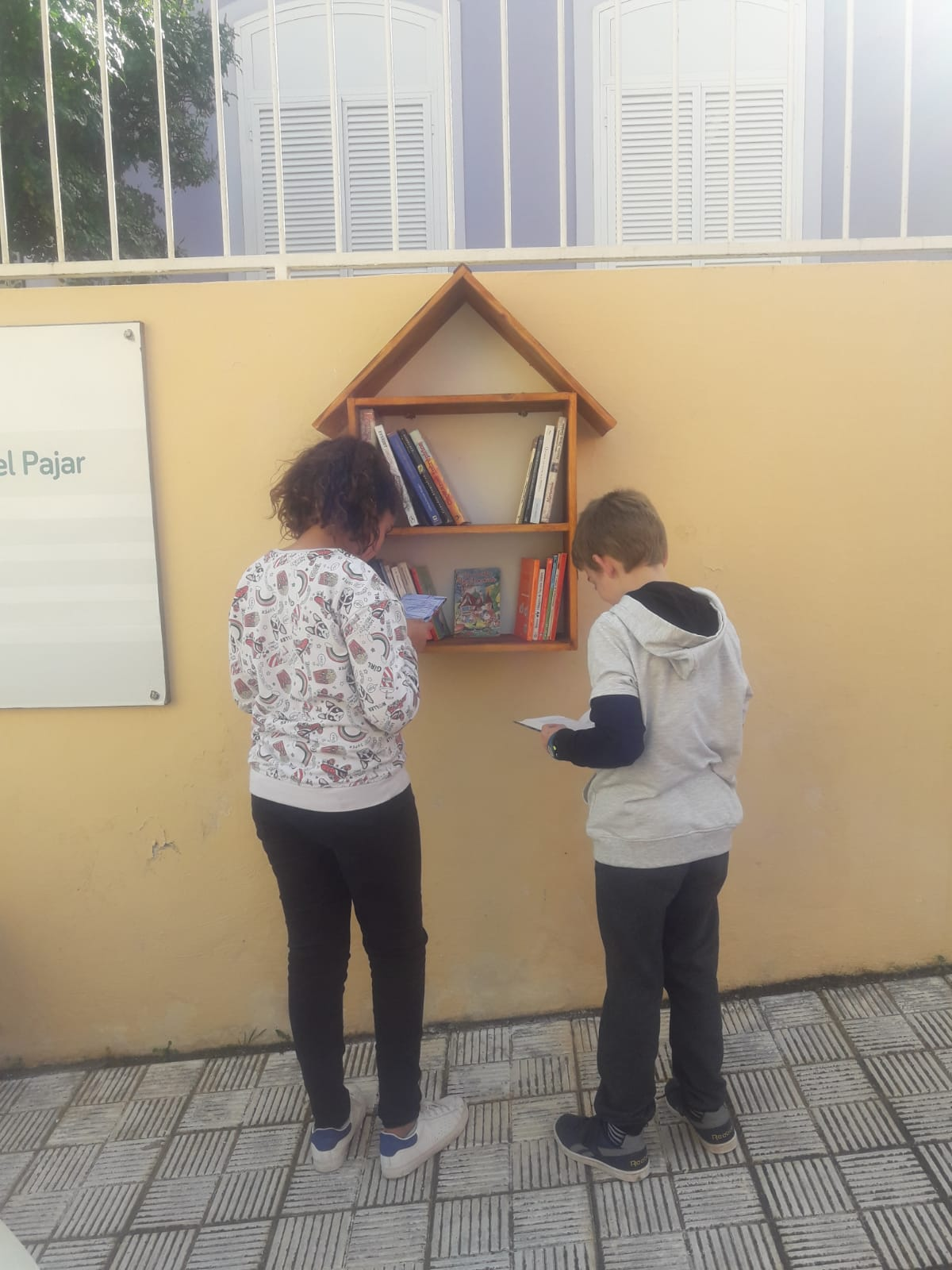 Nuevas minibibliotecas El Rosario (3)