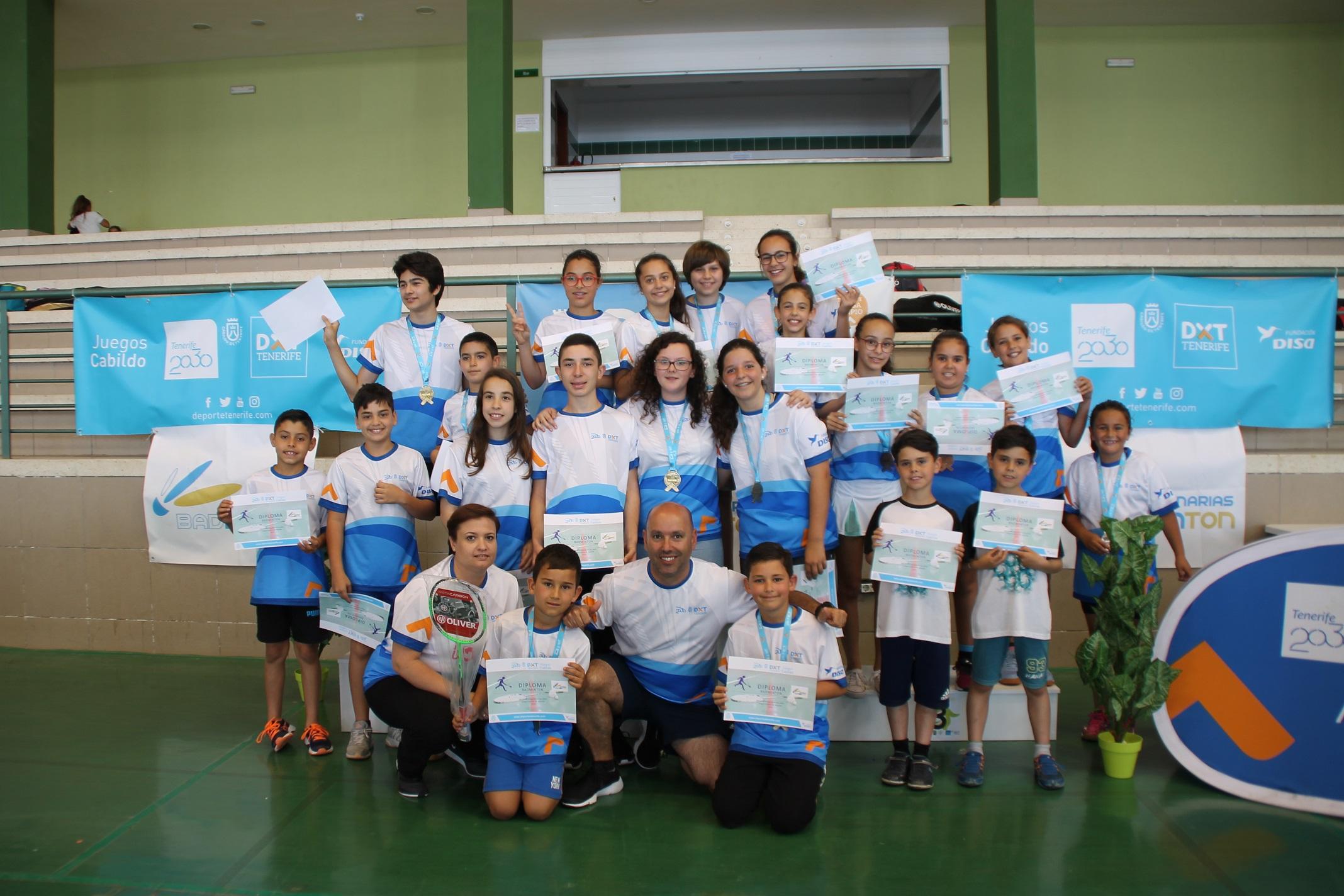 Club Bádminton El Rosario-Final Juegos Cabildo