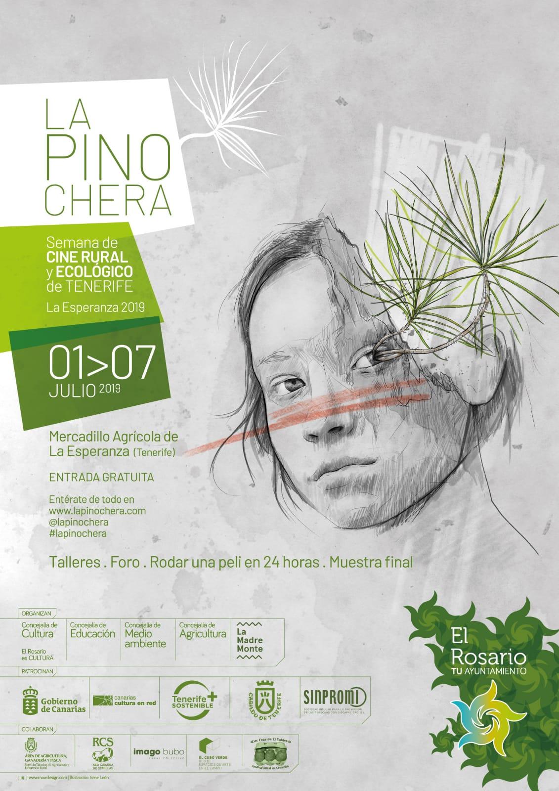 Cartel Festival Cine Ecológico La Pinochera