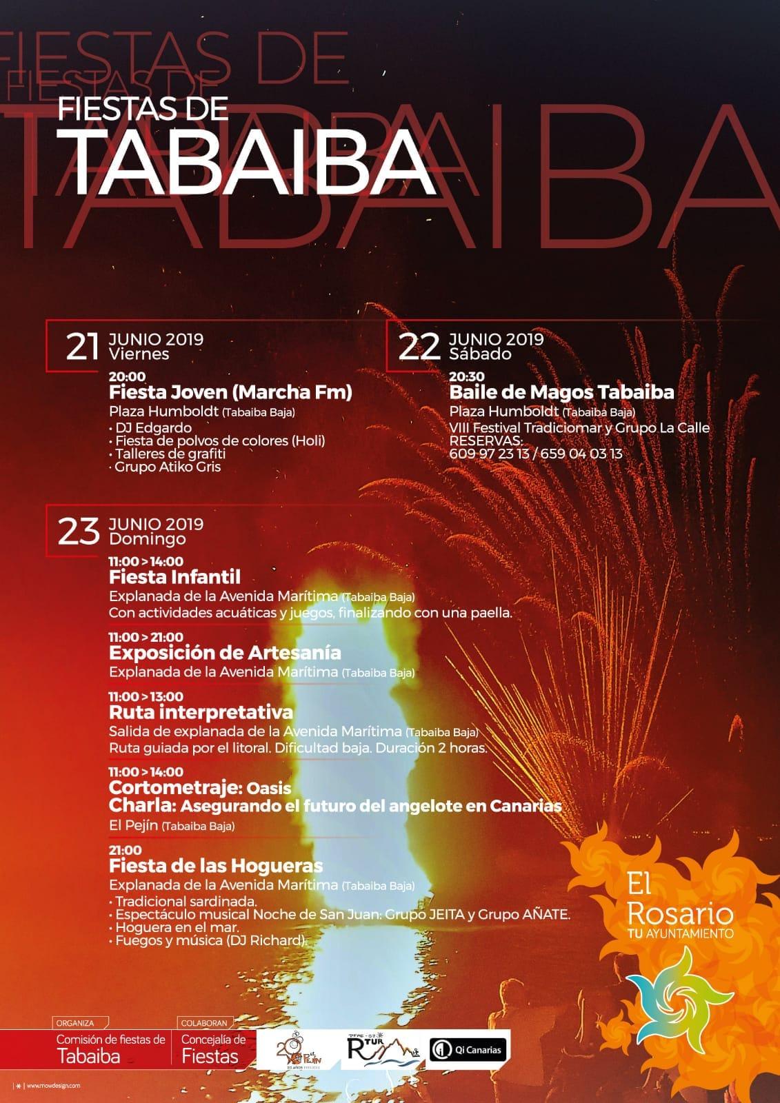 Cartel San Juan Tabaiba 2019