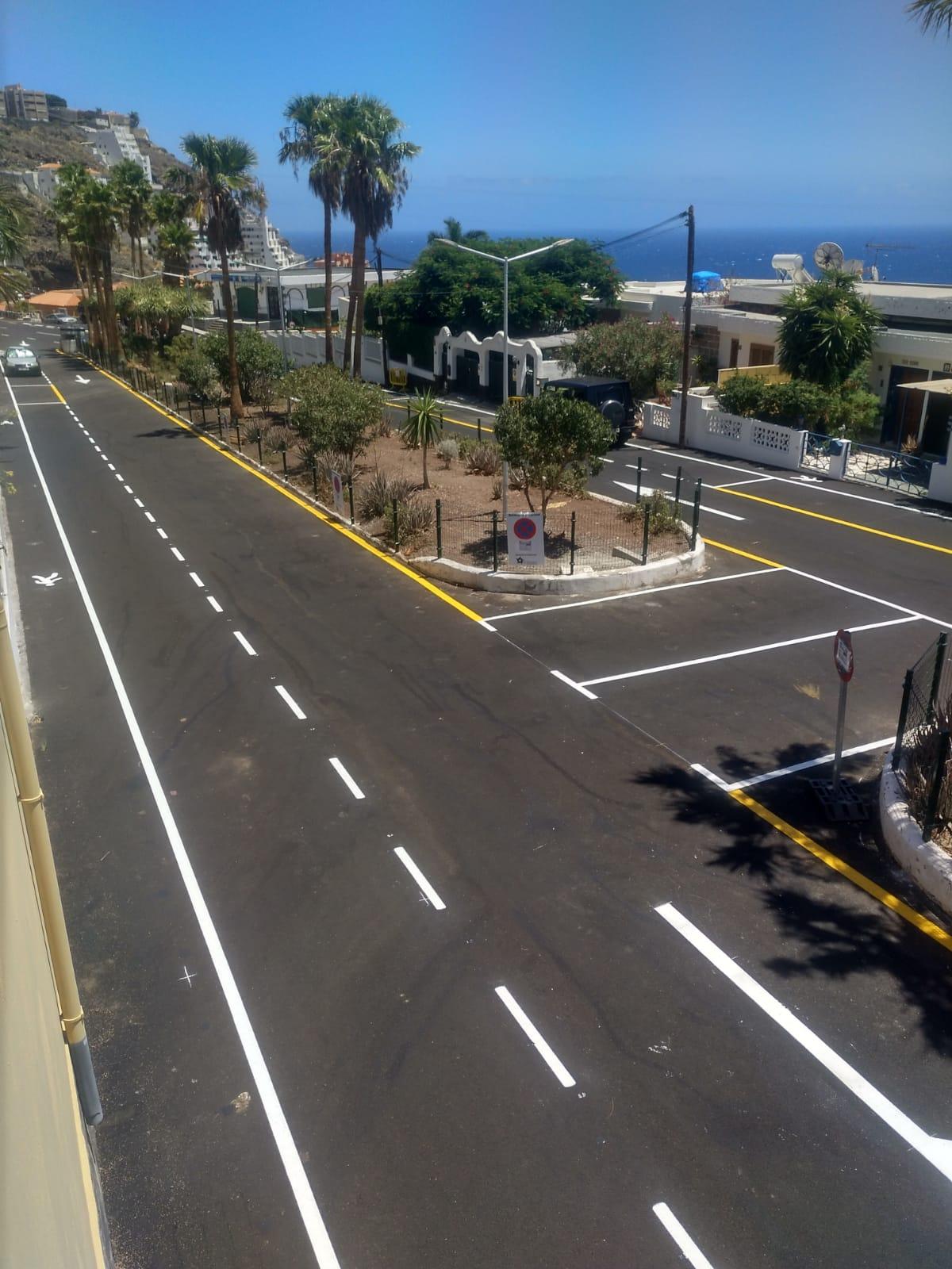 Reforma avenida de Las Palmeras (1)