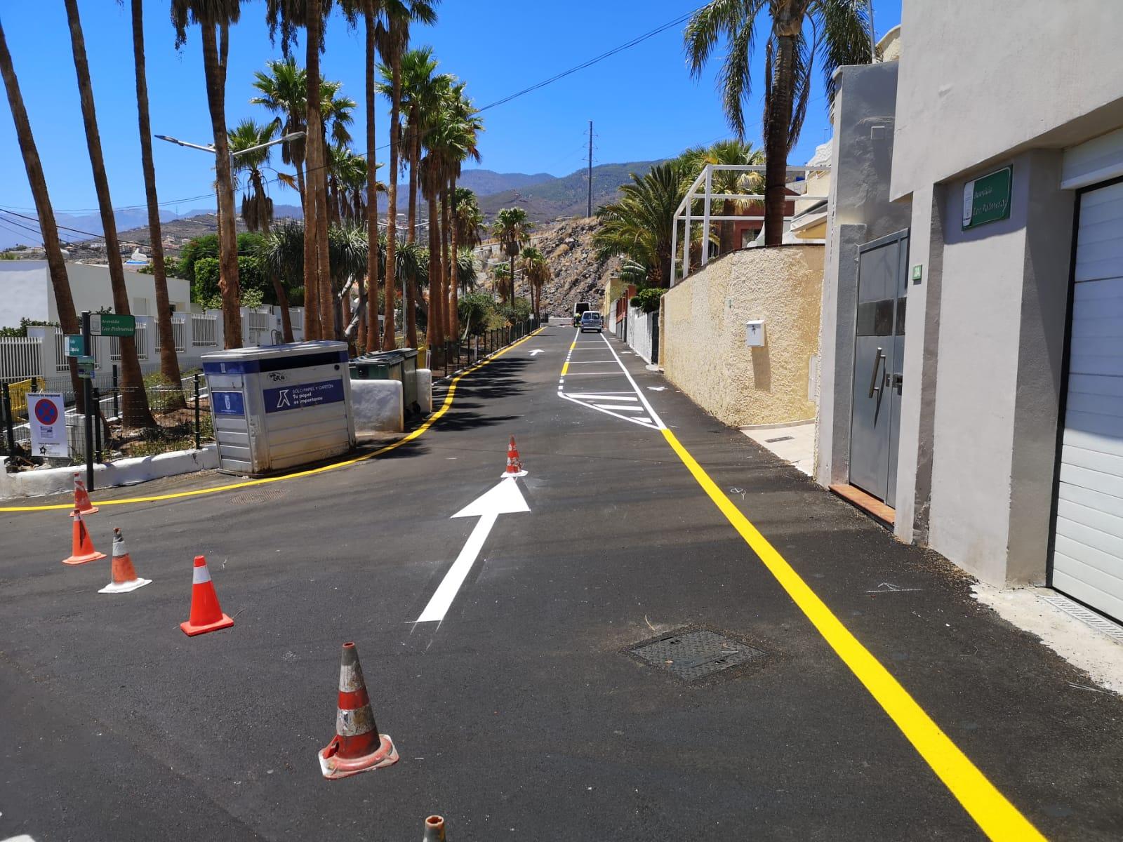 Reforma avenida de Las Palmeras (2)