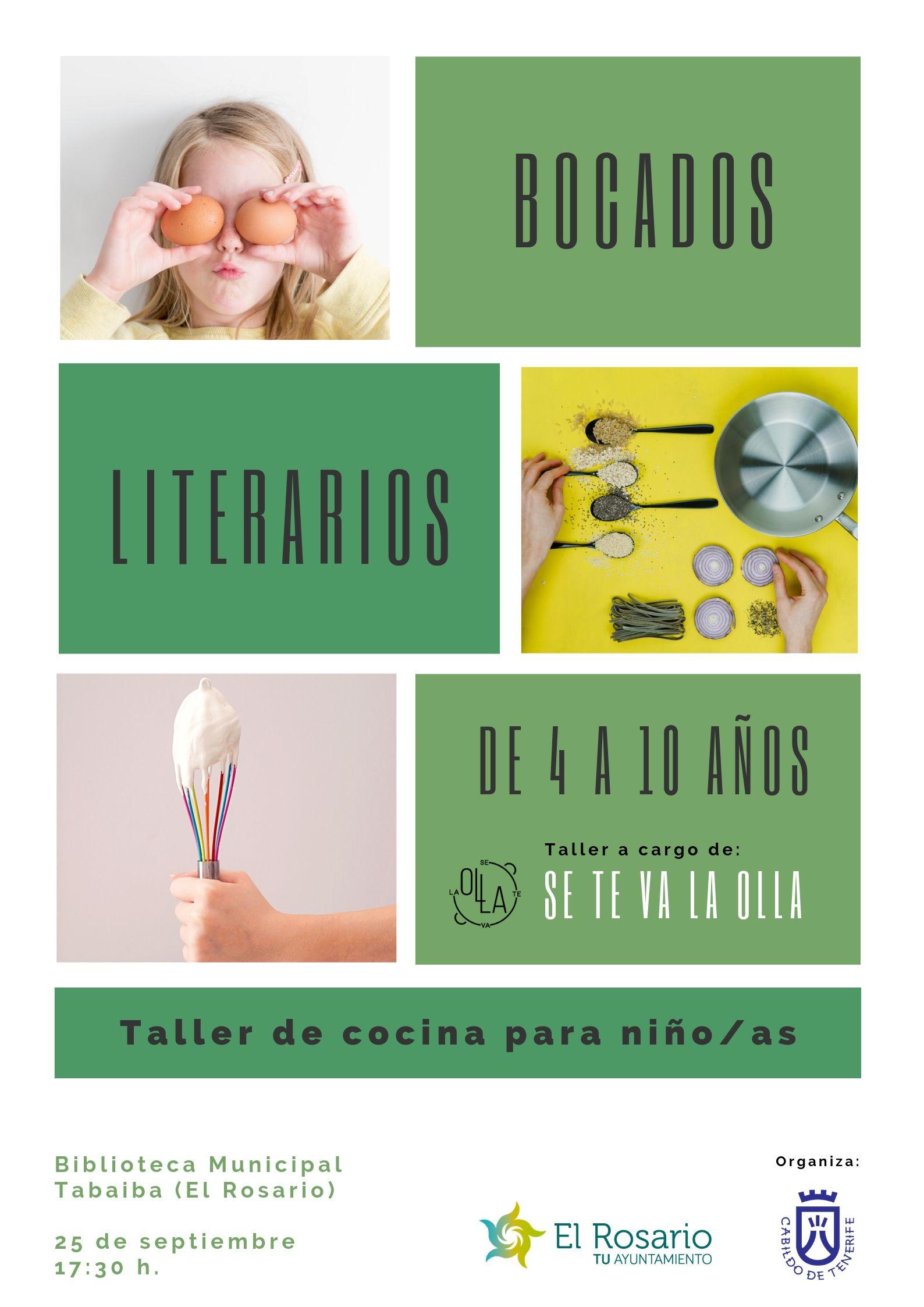 Cartel Bocados literarios_Tabaiba