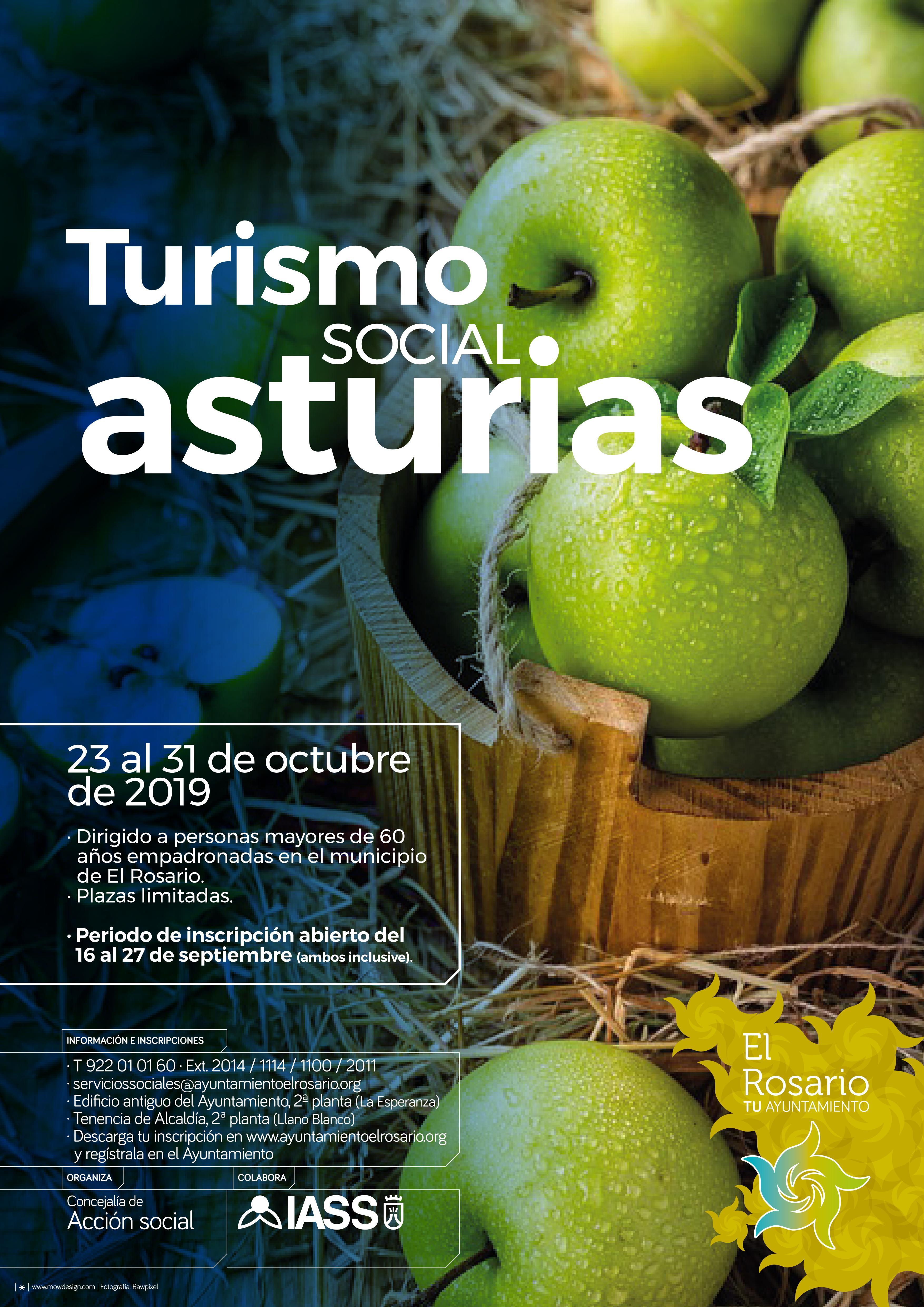 cartel turismo social asturias