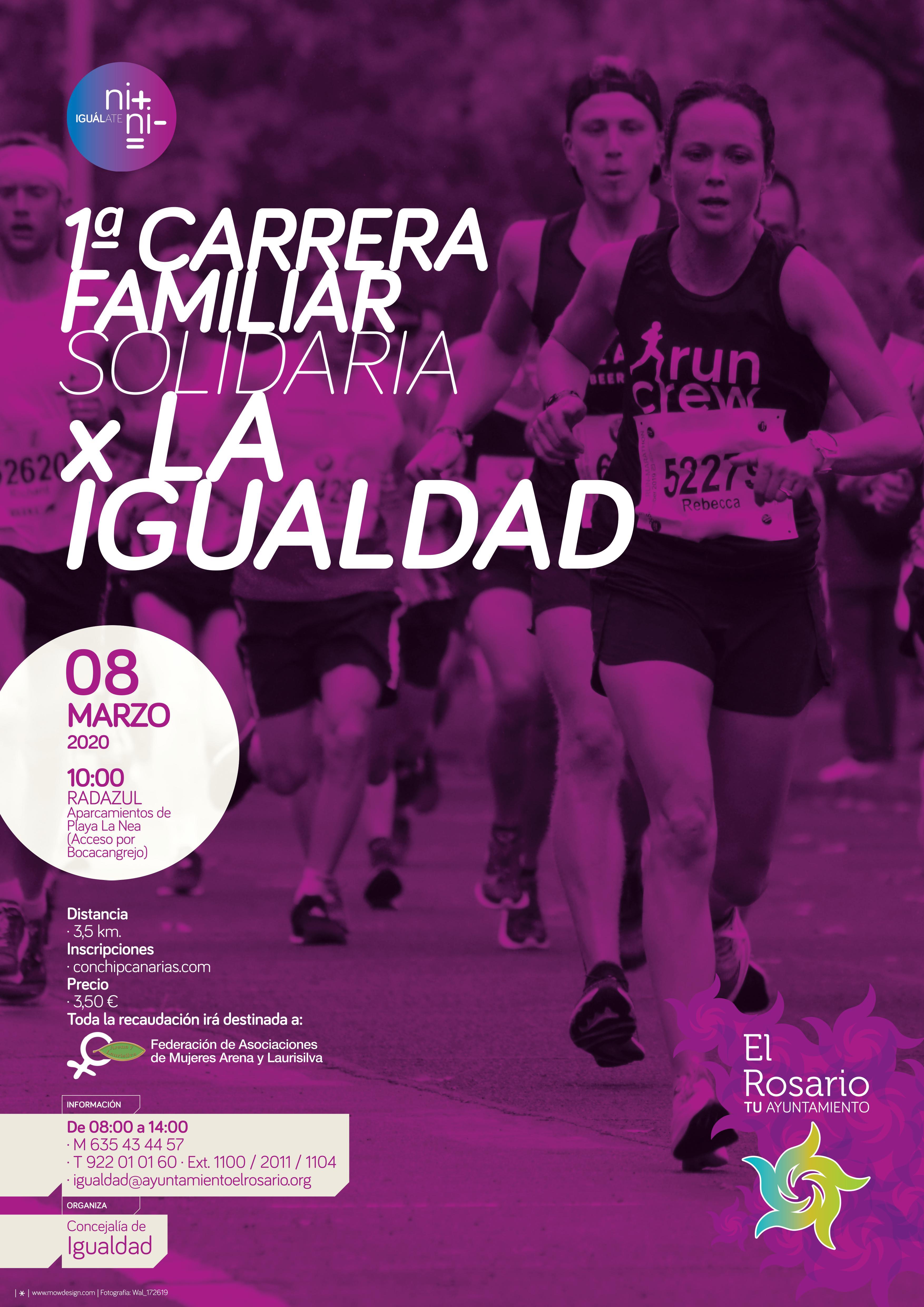 Cartel 1ª Carrera Día de la Mujer