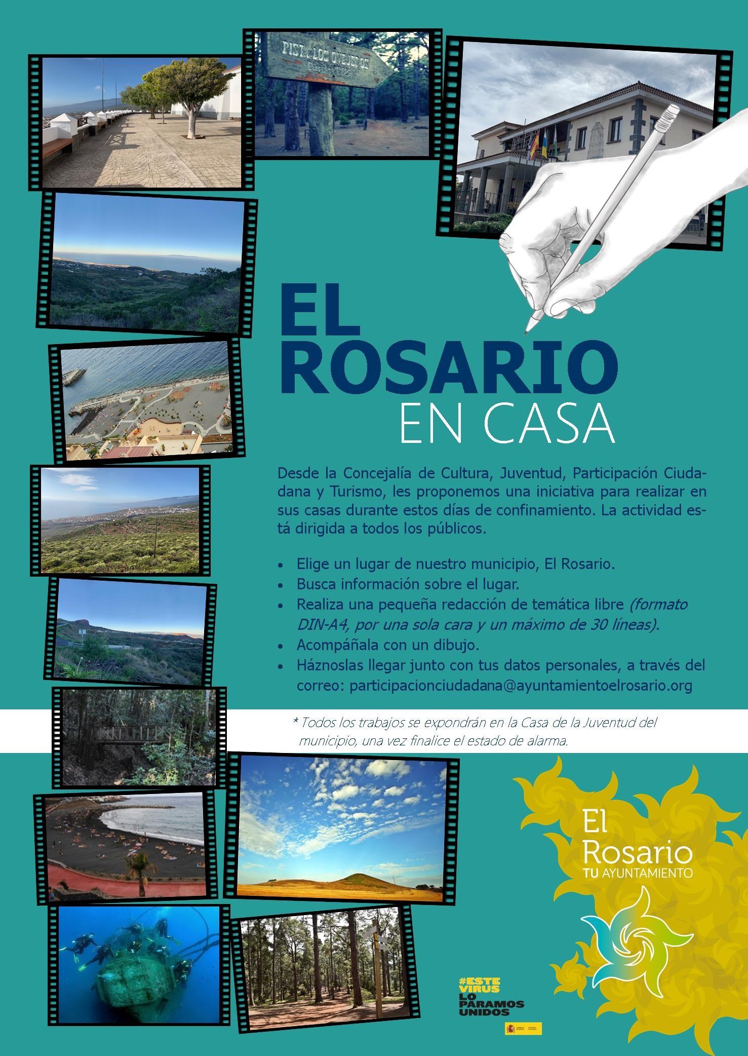 EL ROSARIO EN CASA.-participacionciudana@ayuntamientoelrosario.org