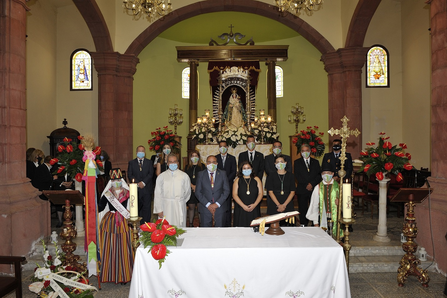 Homenaje y misa Fiestas la Esperanza 2020 (3)