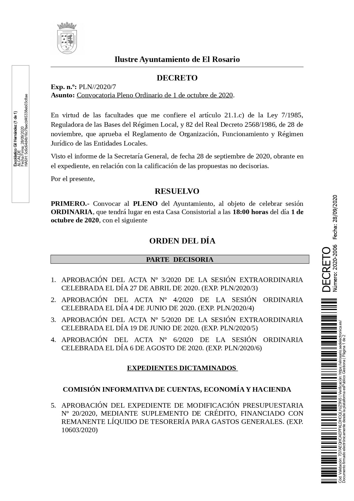 20200928_DECRETO 2020-2006 [Decreto Convocatoria Pleno Ordinario de 1 de octubre de 2020]_pages-to-jpg-0001
