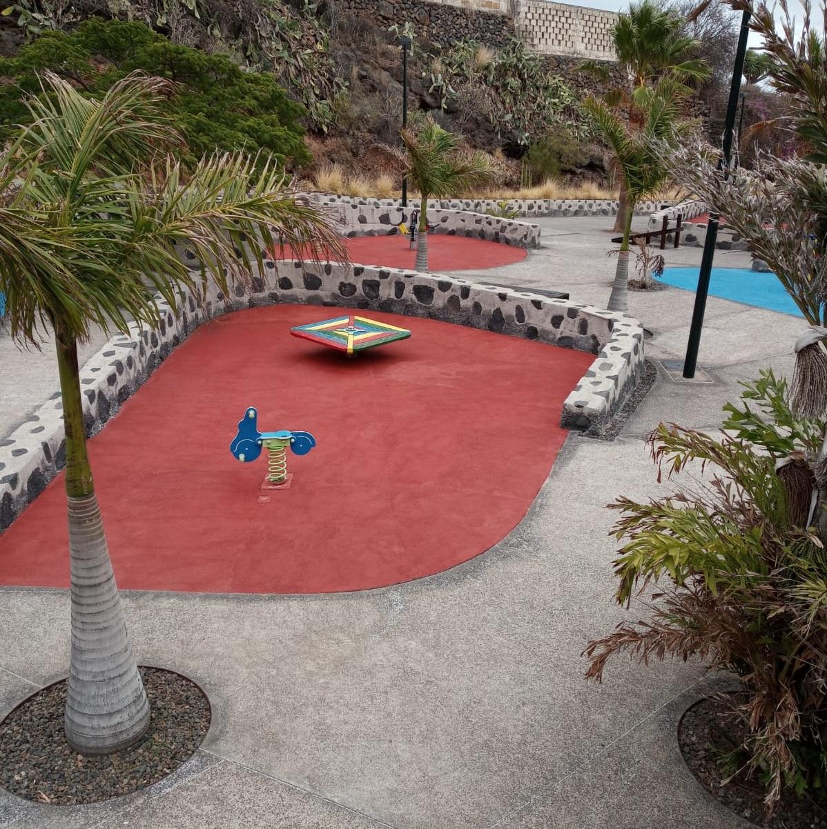 Obras mejora parque La Higuera (1)