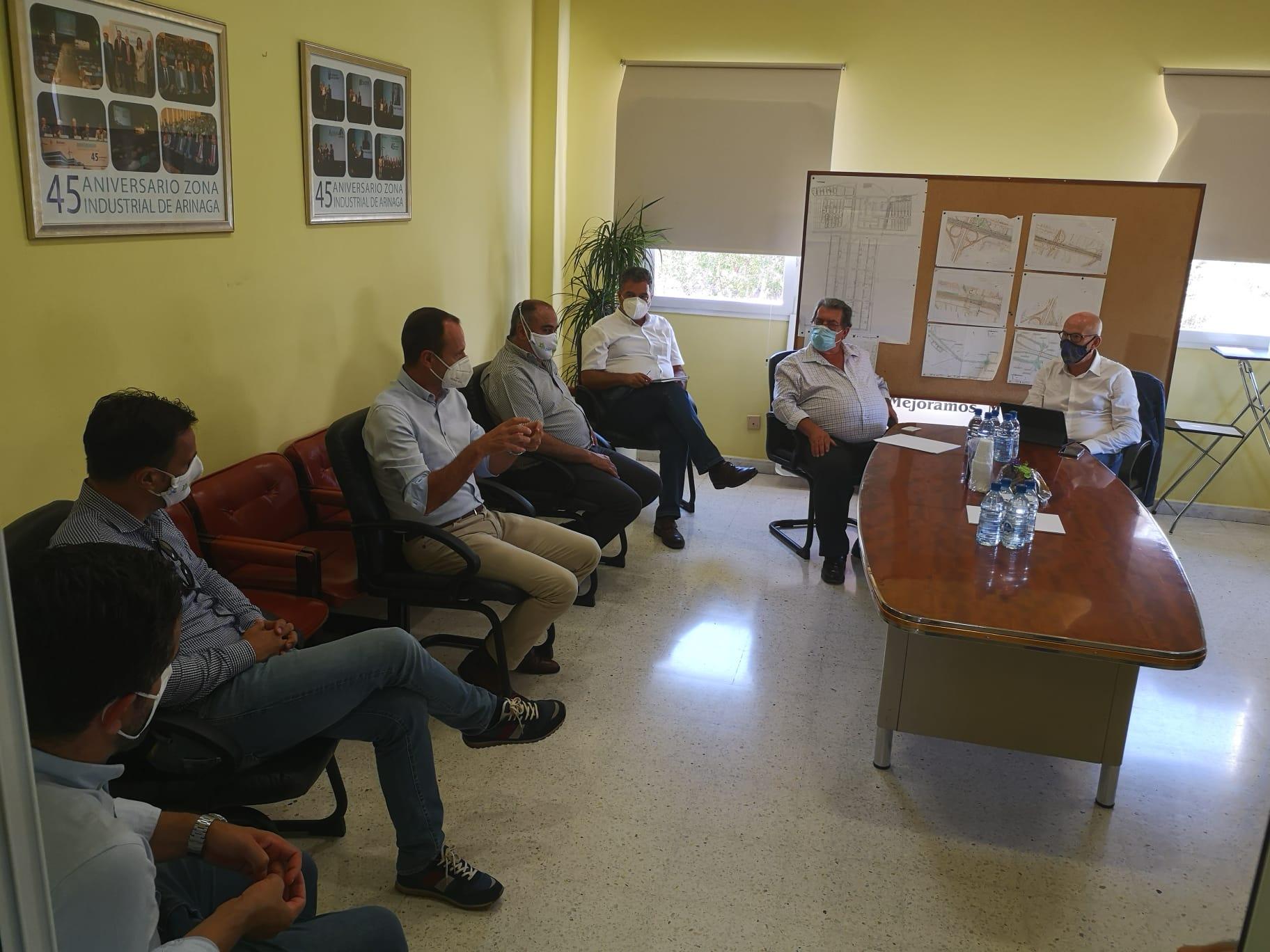 Visita de El Rosario a polígonos de Gran Canaria (2)