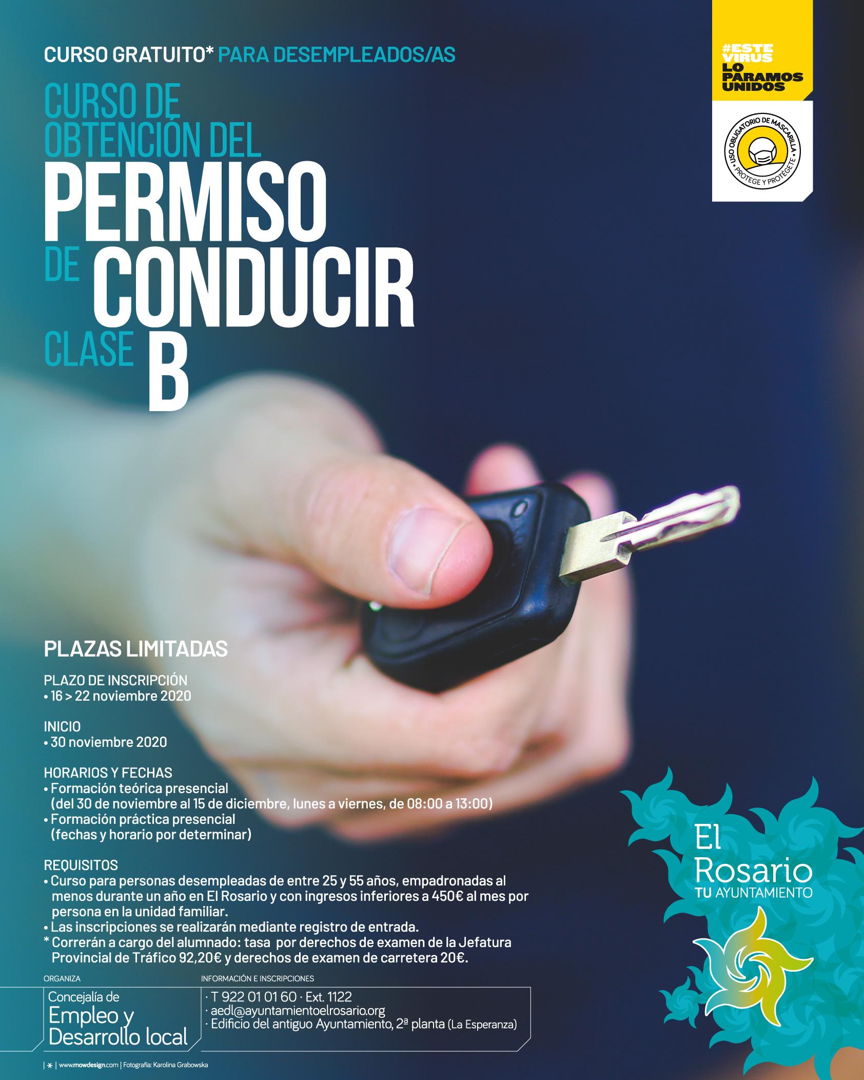 EL_ROSARIO-Curso_Permiso_Conducir_Clase_B-20201116-CARTEL_A3-20201115-01af-redes