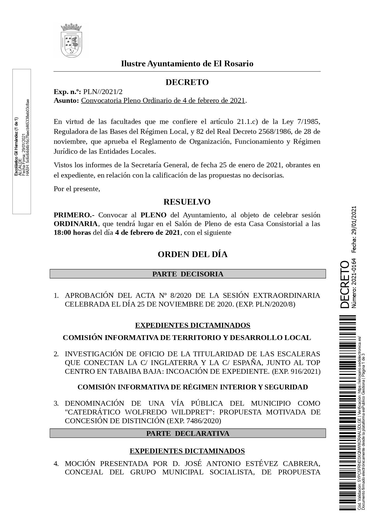 20210129_DECRETO 2021-0164 [Decreto Convocatoria Pleno Ordinario de 4 de febrero de 2021]_page-0001