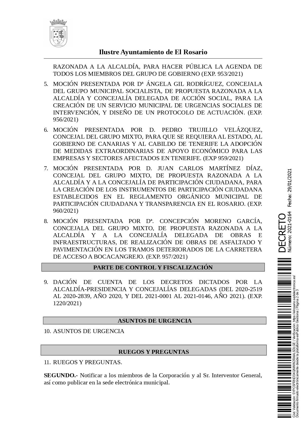 20210129_DECRETO 2021-0164 [Decreto Convocatoria Pleno Ordinario de 4 de febrero de 2021]_page-0002