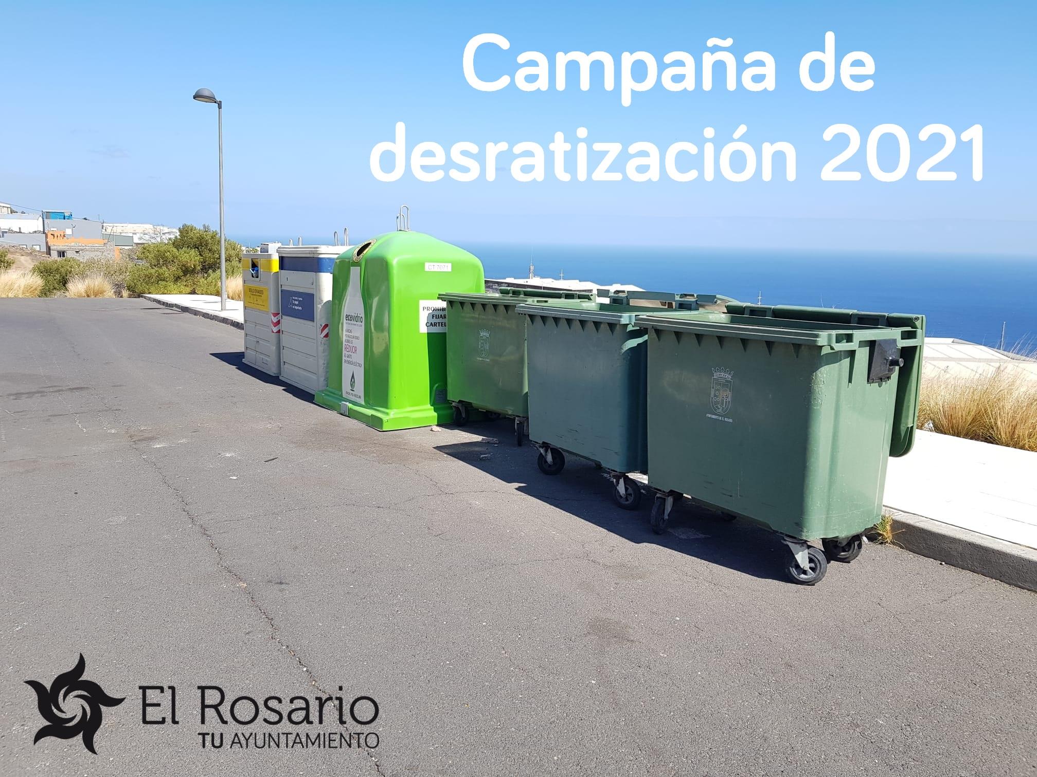 Campaña desratización