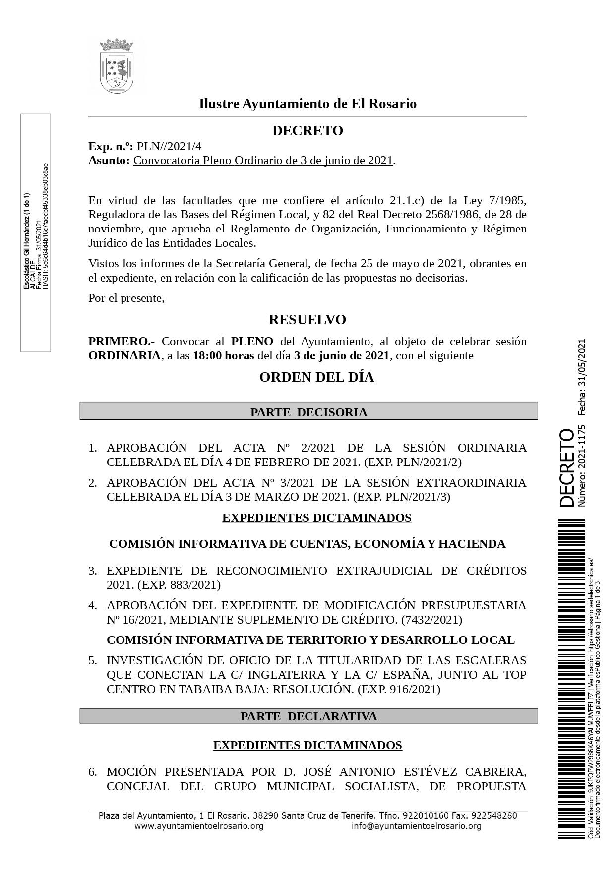 20210531_DECRETO 2021-1175 [Decreto Convocatoria Pleno Ordinario de 3 de junio de 2021]_page-0001