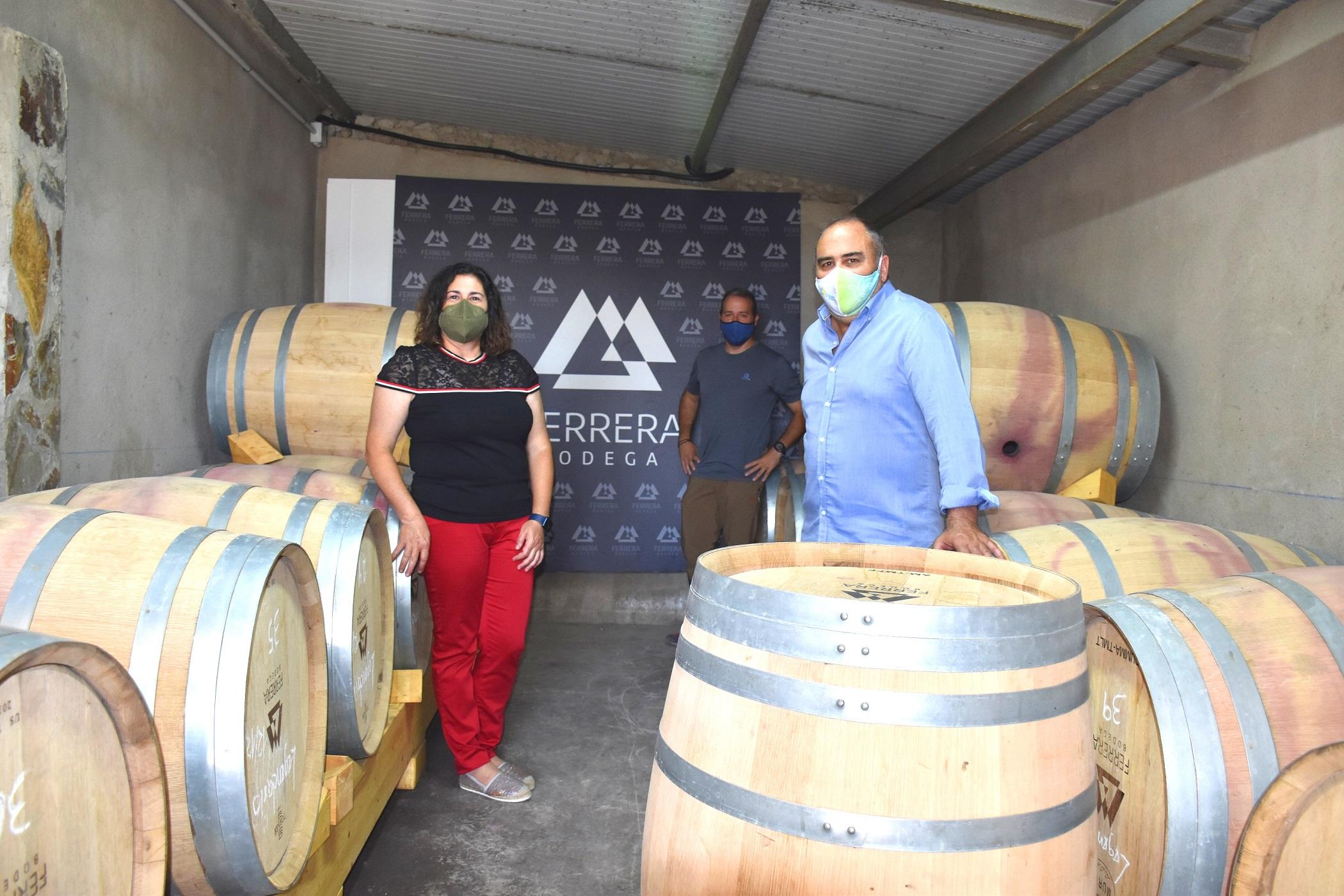 Visita Bodegas Ferrera - copia